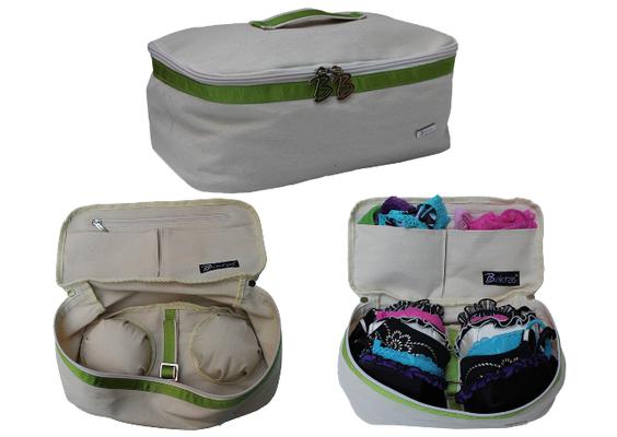 Bakras'tan iç çamaşırı taşıma çantası