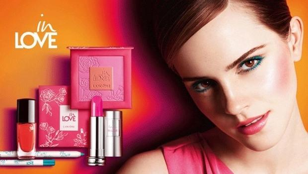 Lancome'un Emma Watson'lı ilkbaharı