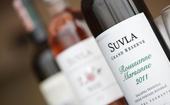 Suvla'nın ödüllü rose şarapları
