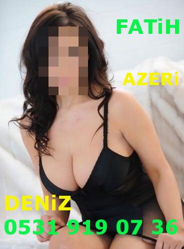 Yabancı Bayan Escort Azeri Deniz